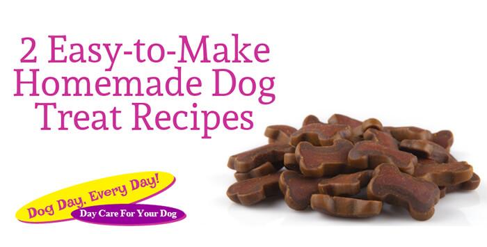 Easy-to-Make Homemade Dog Treat Recipes