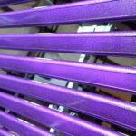Powder-Coating-Action-Purple-Railing