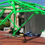 Powder-Coating-Action.Green-Car-Chassis