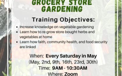Register for Grocery Store Gardening