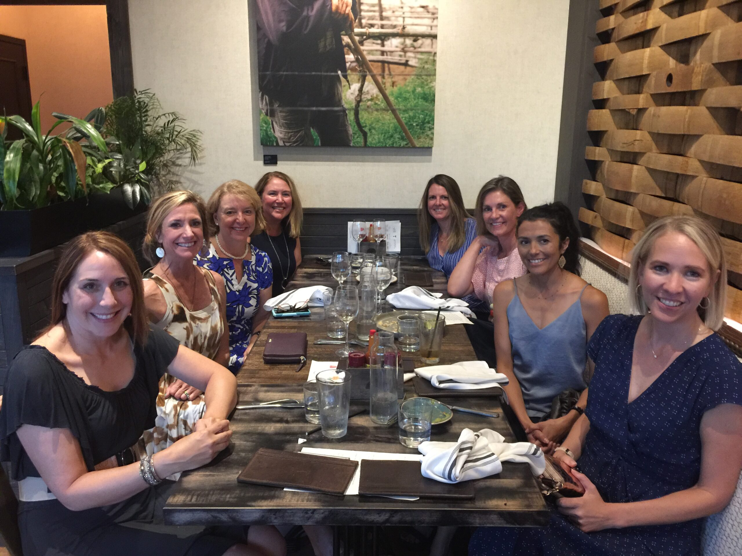 Alliance of Women in Tech Leadership Dine Around