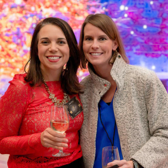 Alliance of Women in Tech Leadership members Julie Bryce and Candice Keenan