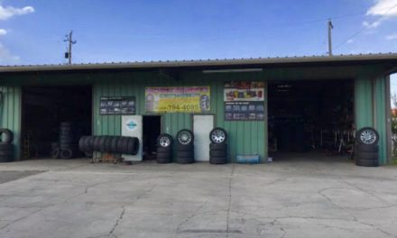 Tire Shop Robbed in Livingston
