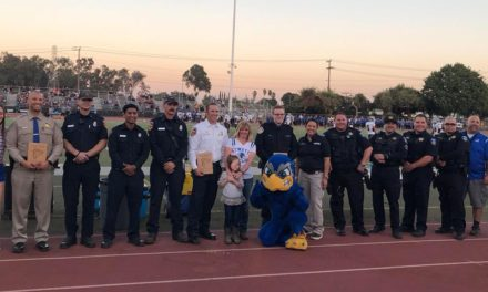 Atwater High School honors first responders