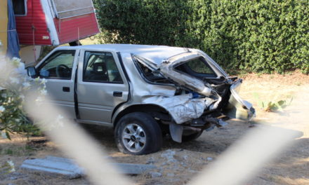 Vehicle struck by train in Atwater
