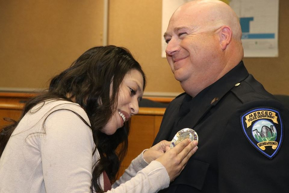 MPD promoted one officer and welcomed back another
