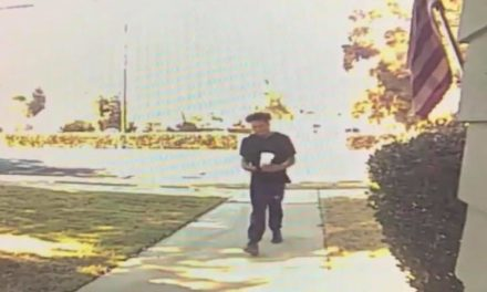 Suspected Porch Pirate Caught On Camera In Atwater