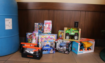 CHP-Merced held their Tenth Annual Santa Day Toy Drive in Atwater