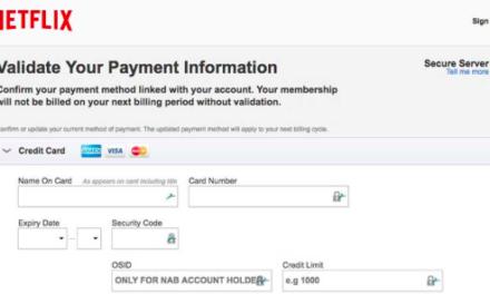 Beware of Netflix email scam