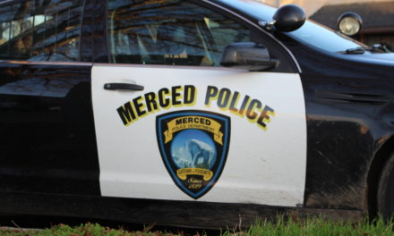 Suspects held a gunpoint for discharging firearm from a backyard in Merced