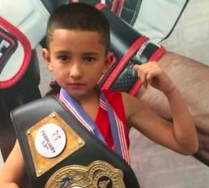 Rising boxing star brings fifth title to Merced