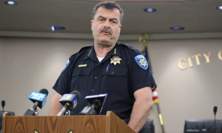 Atwater Police Chief holds press conference regarding the murder of Ethan Morse