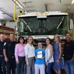 Fire Truck Face Off Results in a $1,750 Donation
