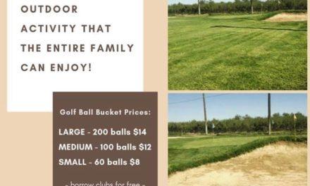 Discounts for students at Santa Fe Golf Range