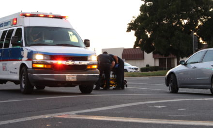 Bicyclist struck by vehicle in Merced