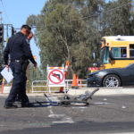 One man dead after big rig crashes into bicyclist