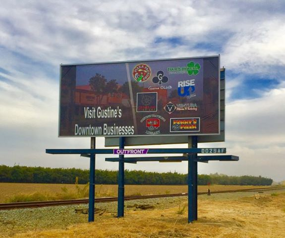 Gustine businesses, organization purchase billboard to attract tourism