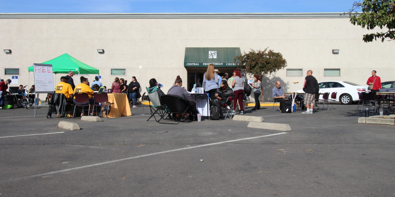 Merced event connects homeless to several services