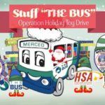 """Operation Holiday Toy Drive and """"Stuff The Bus"""" event begins this month in Merced"""