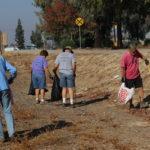 Volunteers clean-up walking, bike path in Merced