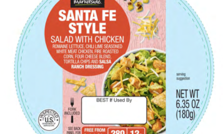 Salad products recalled for possible contamination of E. Coli