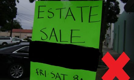 Los Banos informs its community on garage and yard sale regulations