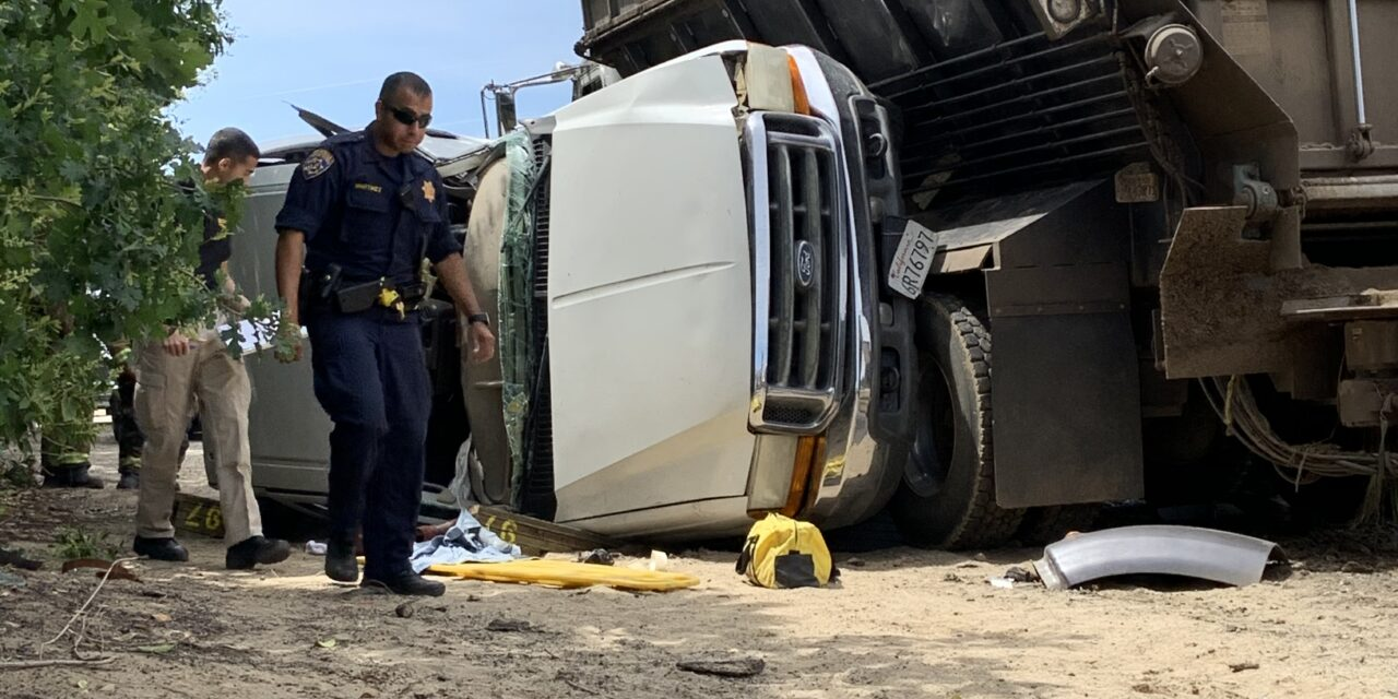 16-year-old airlifted after attempting to beat big rig at intersection, CHP say