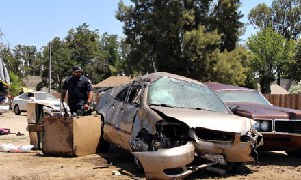 Vehicle rollover in Atwater, one airlifted
