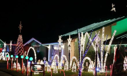 Annual Christmas lights on Sunset Drive begins in Merced