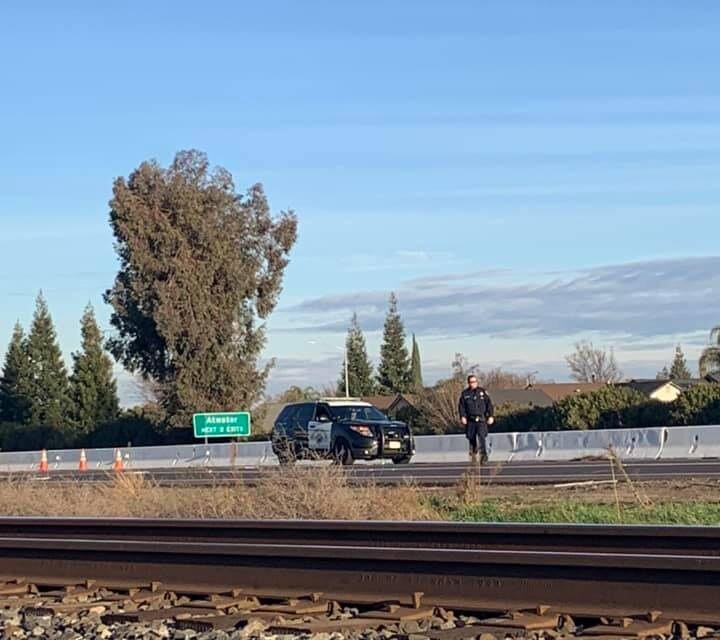 Pedestrian struck by three vehicles on Southbound 99, killed, CHP say