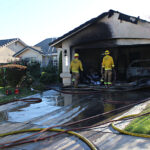 Two homes catch fire in Atwater