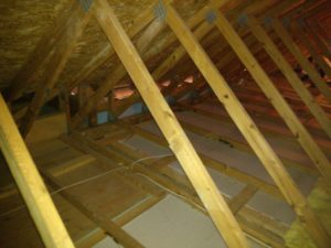 bare attic space - clio