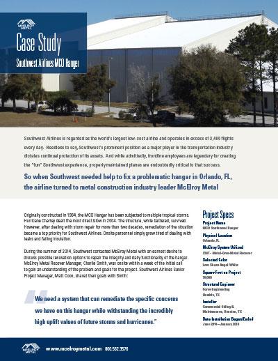 McElroy Case Study - MCO Hangar [PDF]