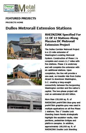 Dulles Metrorail Extension Stations [PDF]