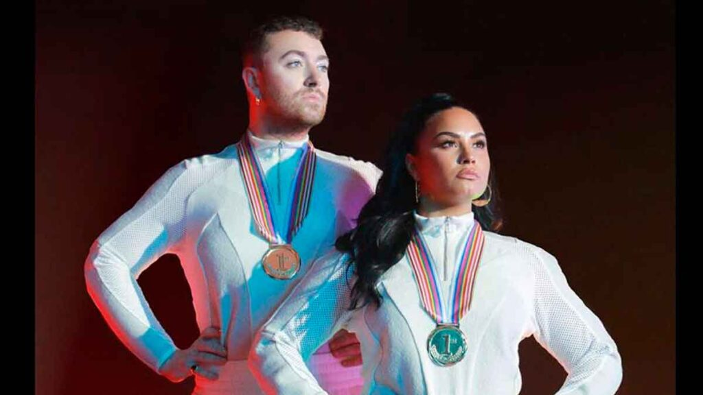 Sam Smith y Demi lovato preparan tema musical