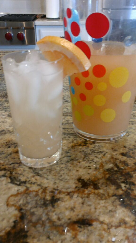 Grapefruit Rickeys