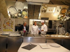 Cooking demonstration at Le Cordon Bleu- Paris