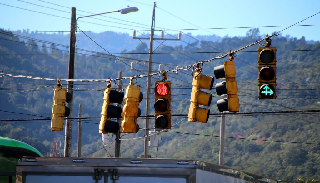 In-cohesive and confusing traffic light signals