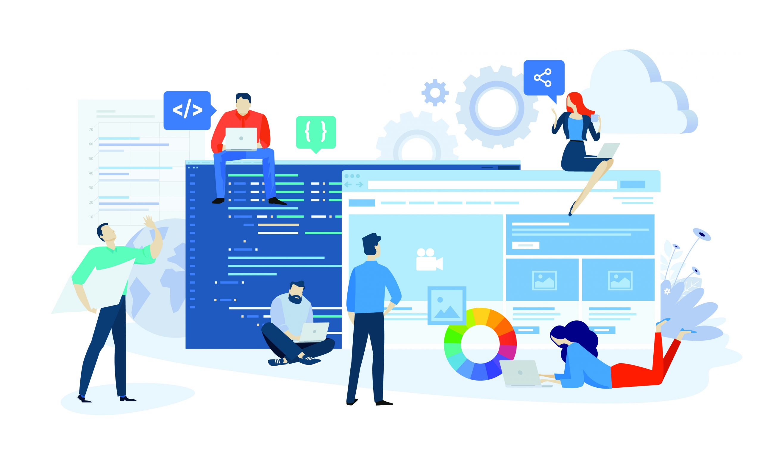Rich web application development