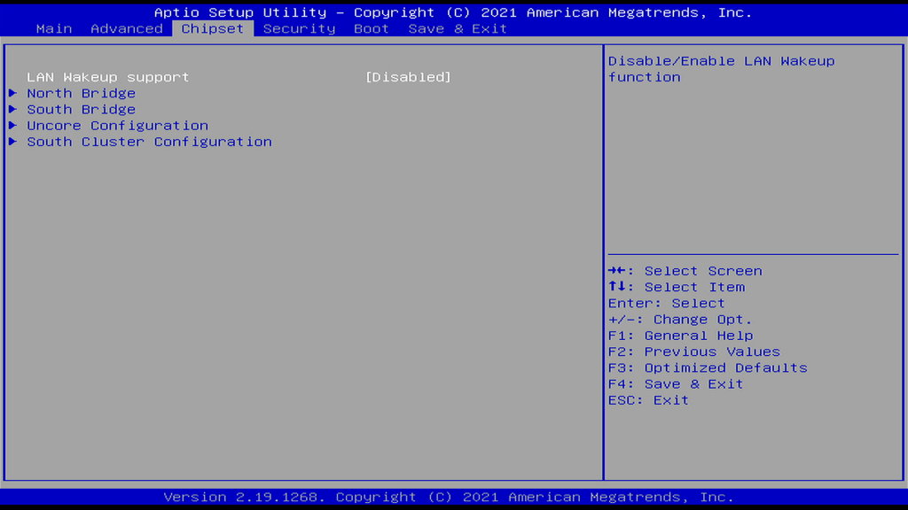 Chipset Page