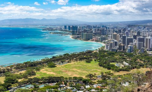 Great hikes on Oahu, Hawaii easily accessible from Waikiki
