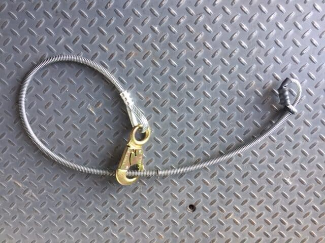 American Iron Works Cable Choker with hook