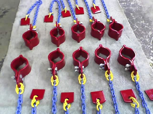 American Iron Works Hinged Hose Hobbles and Chains