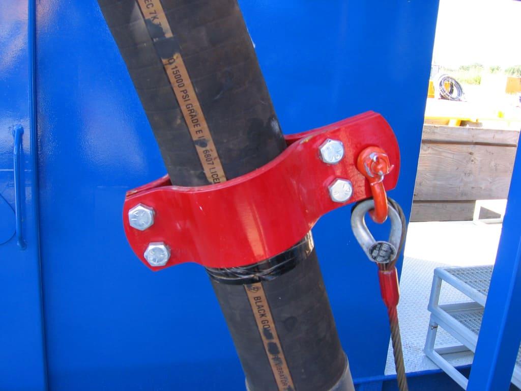 American Iron Works Hose Hobble Closeup