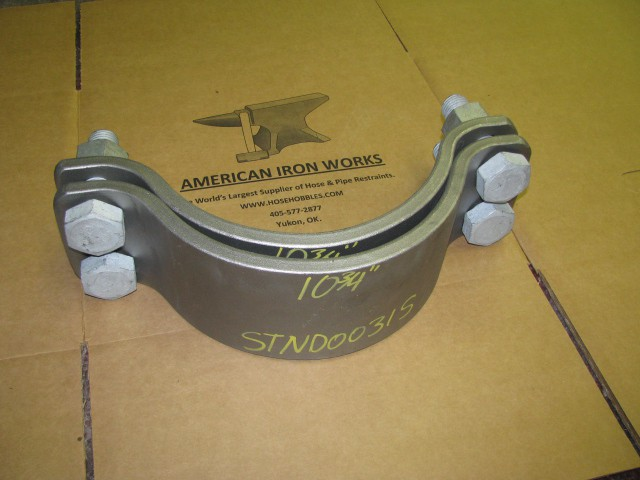 American Iron Works Pipe Clamp Shipping
