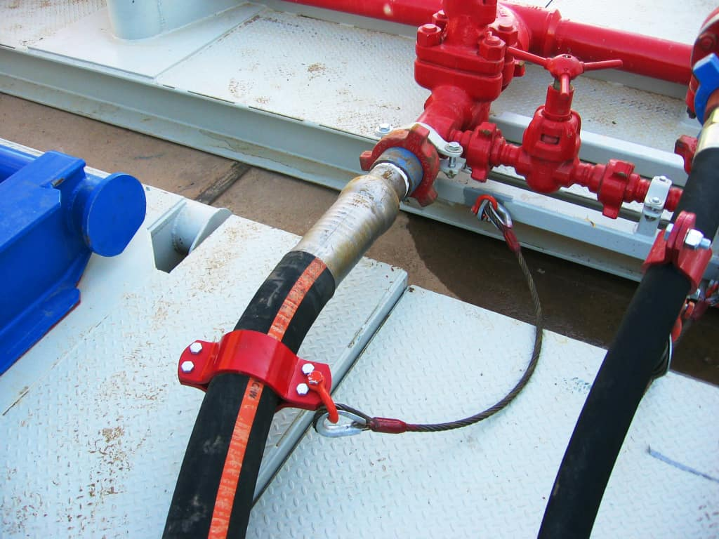 American Iron Works Vibrator Hose Hobble