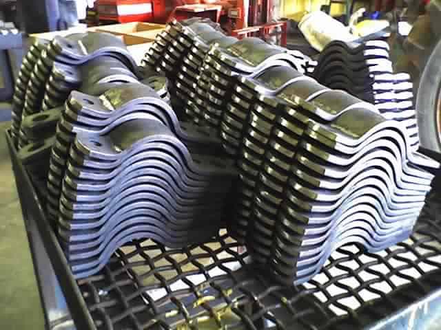 pipe clamp, oilfield platform construction, rig fabrication