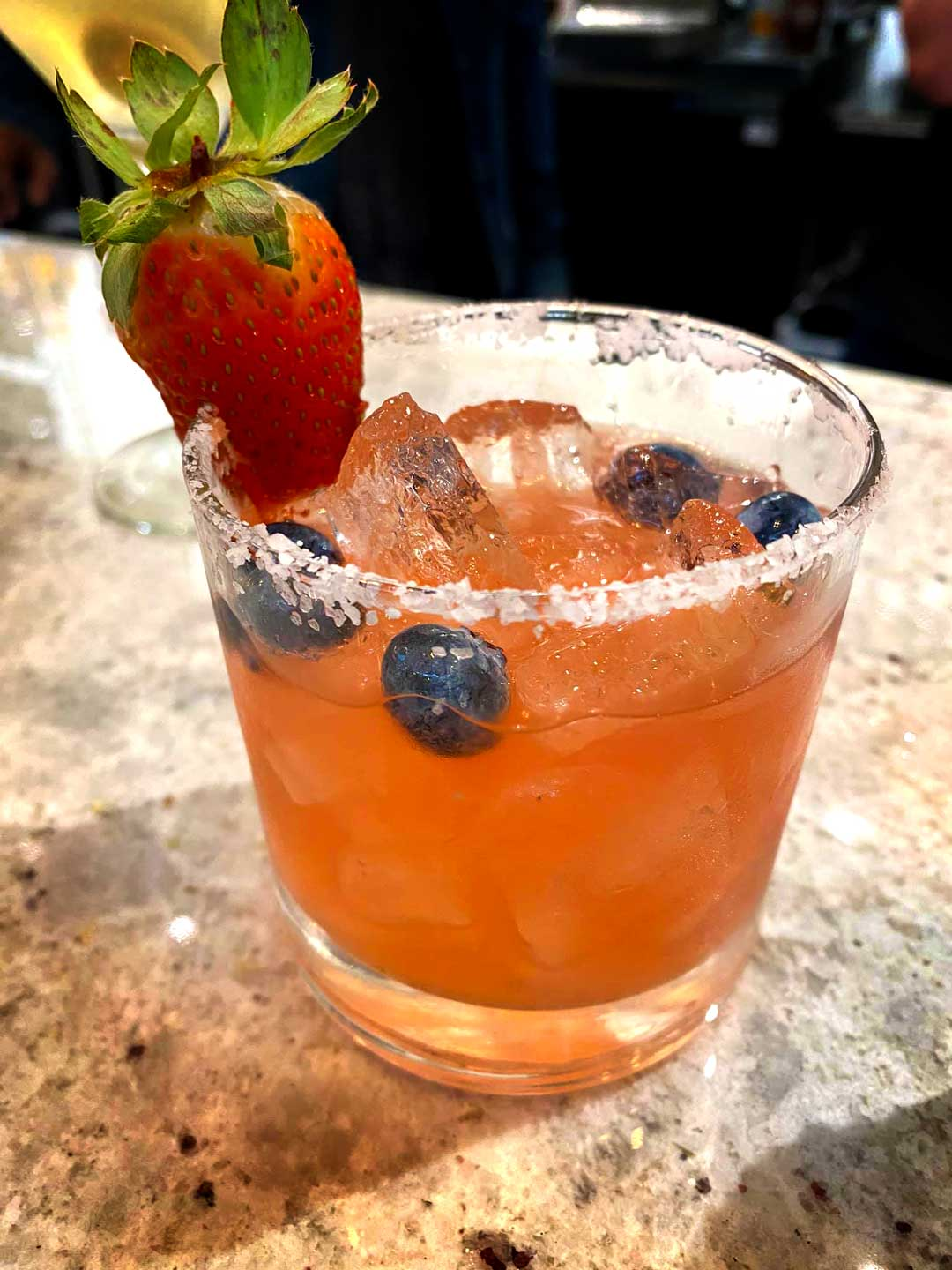 Strawberry Cocktail at 2020 Market