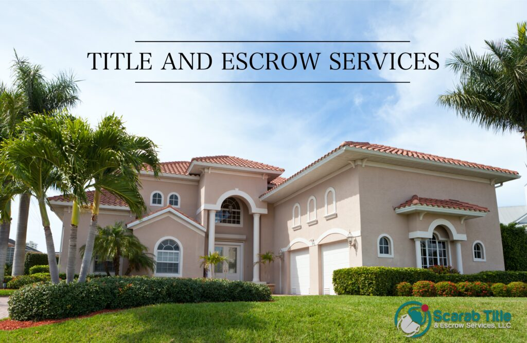 Title Insurance, title services, escrow services.