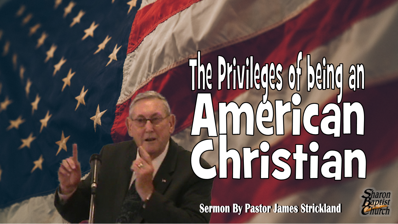 The privileges of being an American Christian VIDEO